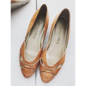 Vintage Leather Flats